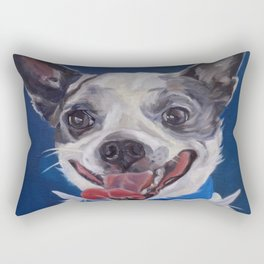 Chihuahua Dog Portrait Rectangular Pillow
