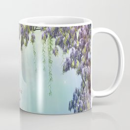 Purple Wisteria Springtime Coffee Mug