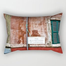 The Eternal City Sound Rectangular Pillow