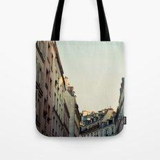 Pastel Paris Tote Bag