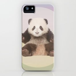 Save the Giant Panda - Endangered Species 5 iPhone Case