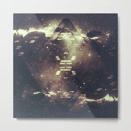 geometric starstruck. Metal Print