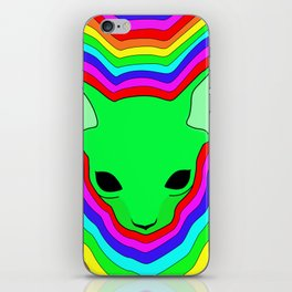 """Hypnosphynx"", by Brock Springstead iPhone Skin"