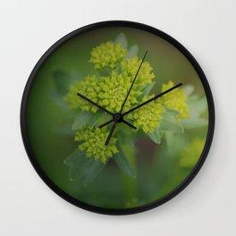 Midnight Hazel Wall Clock
