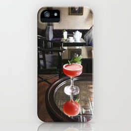 Mirrored Cocktail iPhone Case