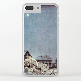 Tinder Box By Kay Nielsen Clear iPhone Case