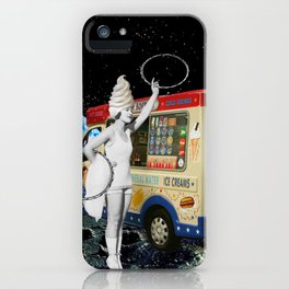 Miss Whippy Hooping in Space iPhone Case