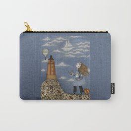 Ship in the Sky Carry-All Pouch