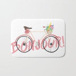 Bonjour! Bicycle Bath Mat