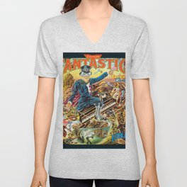 Captain Fantastic and the Brown Dirt Cowboy Deluxe Edition by John Elton Unisex V-Neck