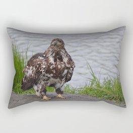 Immature Closeup Rectangular Pillow