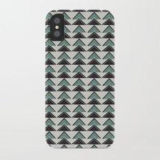Triangle Geometric Pattern iPhone X Slim Case