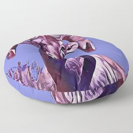 The Mountain Ram Floor Pillow