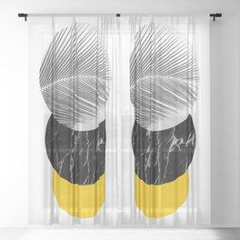 Elemental III Sheer Curtain