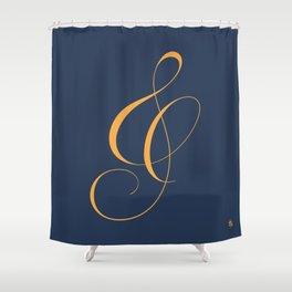 Nautica's Ampersand Shower Curtain