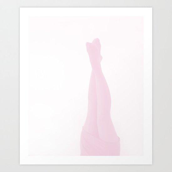 headstand Art Print