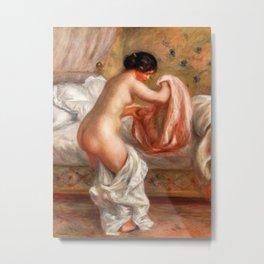 Pierre-Auguste Renoir - Rising (Le Lever) Metal Print