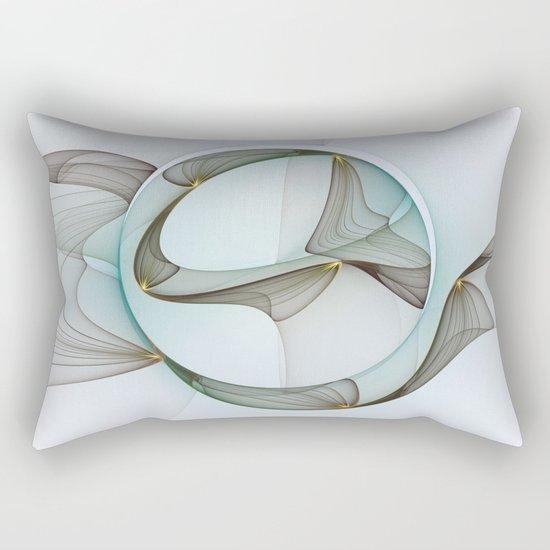 Abstract Elegance Rectangular Pillow