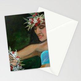 Hula Hands Stationery Cards