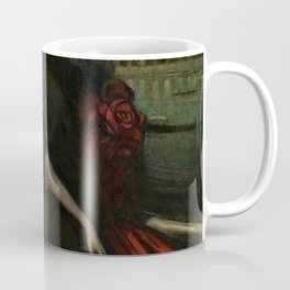The Masquerade, Carnival, Venice, Italy portrait by Federico Beltran Masses Coffee Mug