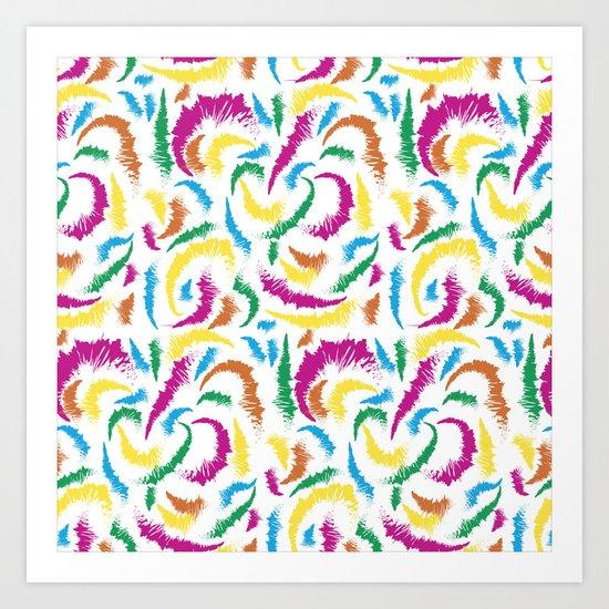 Full Colours Summer 2013  Art Print
