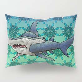 Hammerhead Shark Pillow Sham