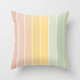 Gradient Arch - Rainbow IV Throw Pillow