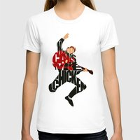 mcfly T-shirts featuring Marty Mcfly by Ayse Deniz