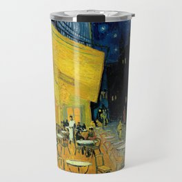 Van Gogh's Café Terrace at Night (High Resolution) Travel Mug