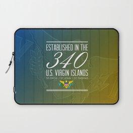 Established in the 340/USVI Laptop Sleeve