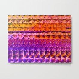 cactus gradient 506 Metal Print