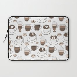 Coffee Cups Laptop Sleeve