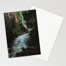 Alaska Waterfall Stationery Cards