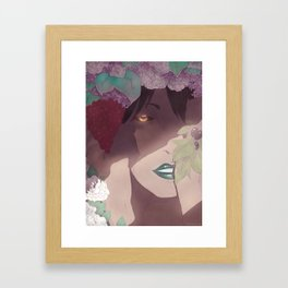Hidden Witch Framed Art Print