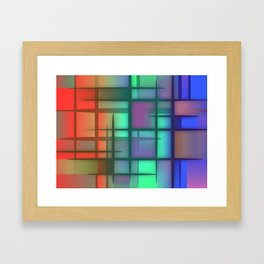 Abstract Design 6 Framed Art Print