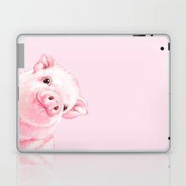 Sneaky Baby Pink Pig Laptop & iPad Skin
