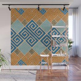 Meander Pattern - Greek Key Ornament #7 Wall Mural