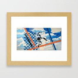 Falling in The Sky Framed Art Print
