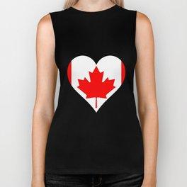 Love Canada Biker Tank