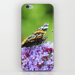 Butterfly V iPhone Skin