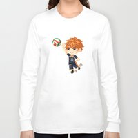 haikyuu Long Sleeve T-shirts featuring Haikyuu!! by Nozubozu