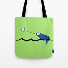 Water Polo Narwhal Tote Bag