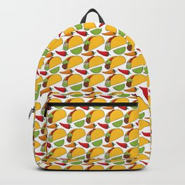 Tacos Doodle Pattern - Taco Series Backpack