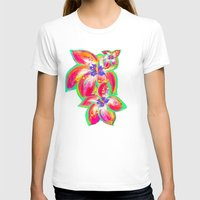 hibiscus T-shirts featuring Hibiscus by Teri Newberry
