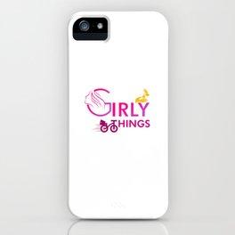 girlies iPhone Case