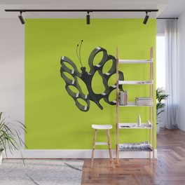 Fly like a butterfly, sting like a bee Wall Mural
