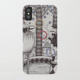 Winter Circus iPhone Case