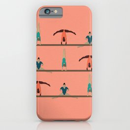 Gymnasts iPhone Case
