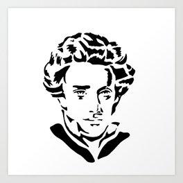 Soren Kierkegaard Art Print