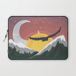 Where the Sun Sails and the Moon Walks Laptop Sleeve